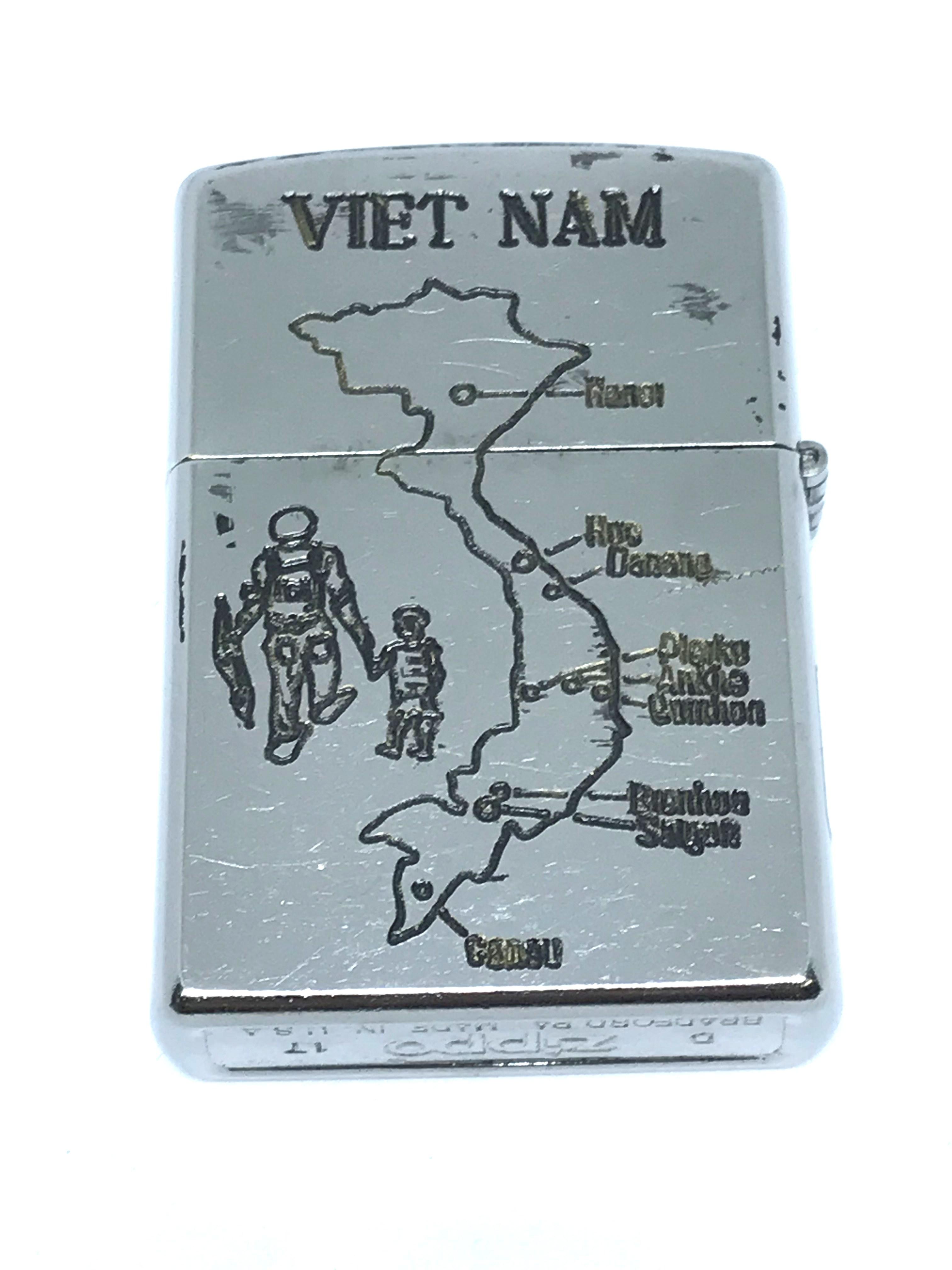 Zippo new khac 2 mat Vietnam War ntz562 2