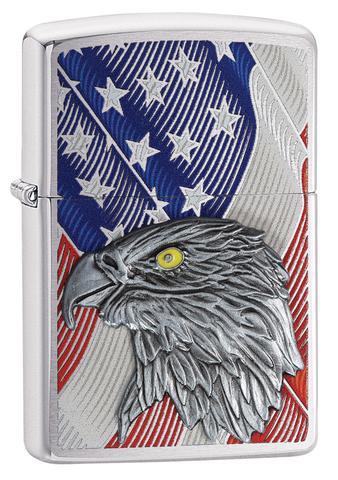 Zippo USA Flag Eagle ntz568