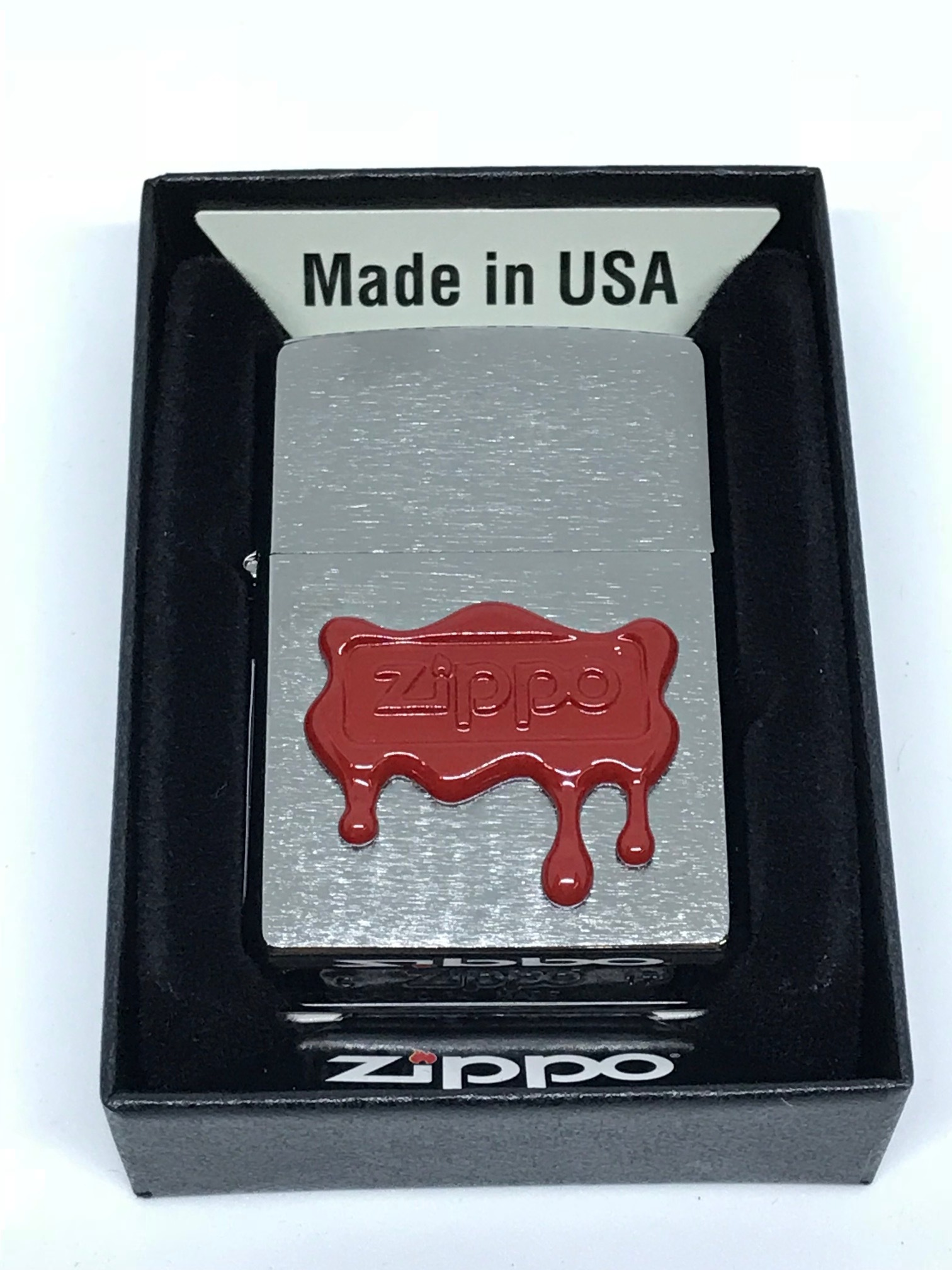 Zippo Red Wax ntz572 2