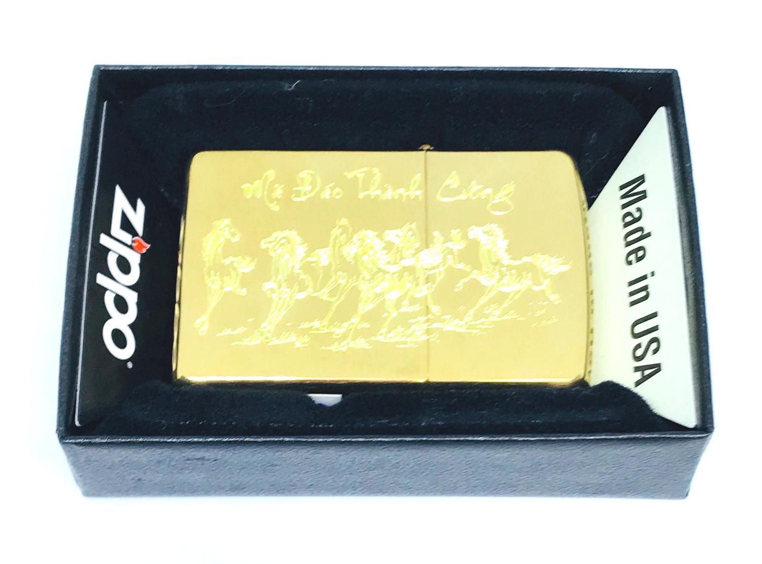 Bat lua zippo usa khac sieu sau 1 mat hinh ma dao thanh cong Z592
