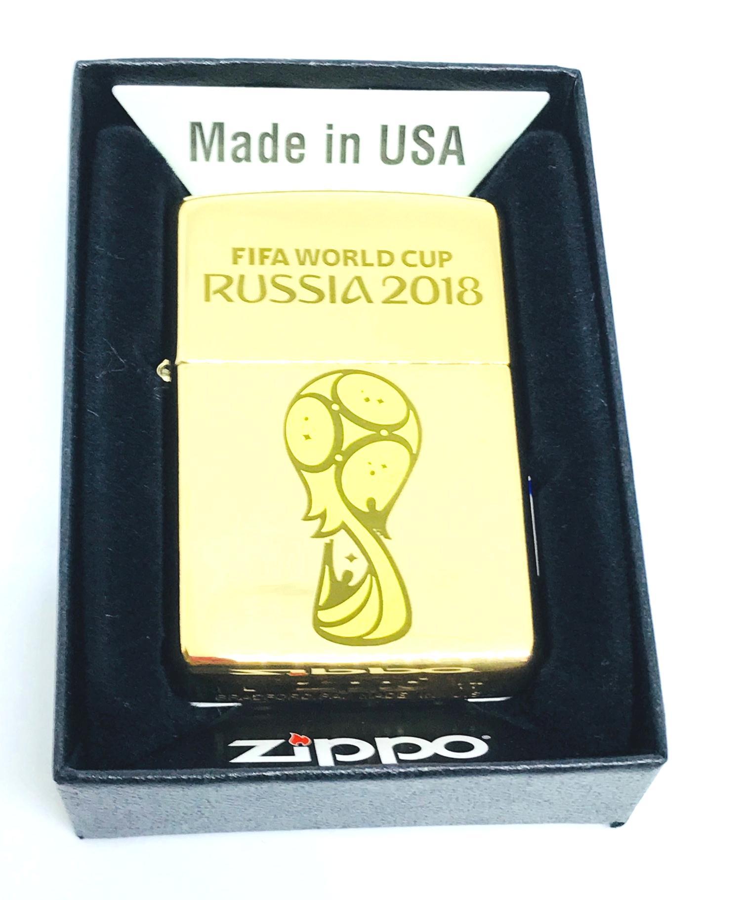 Bat lua zippo usa vang bong khac laze FIFA WORLD CUP Z599