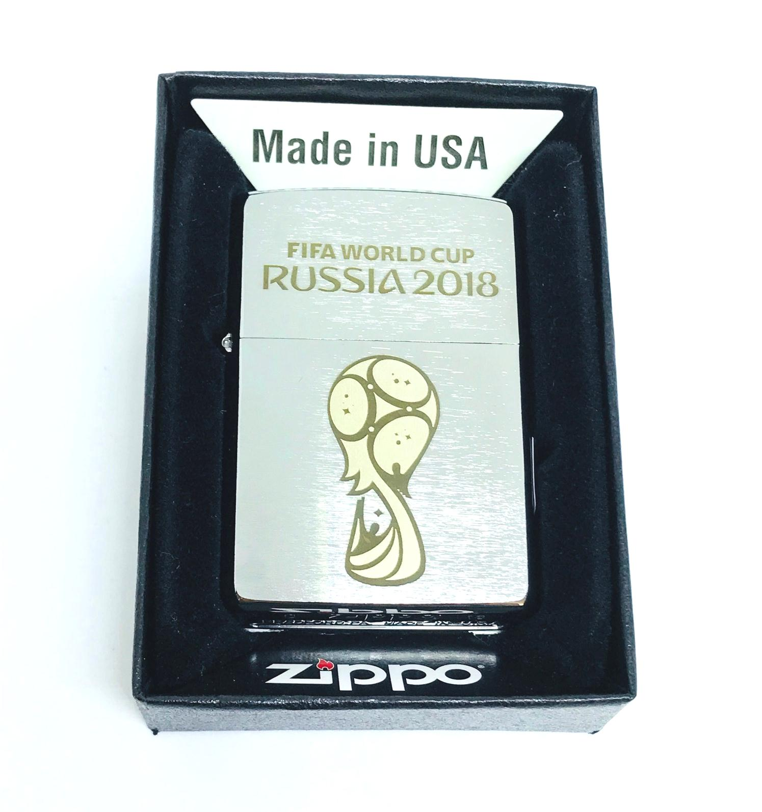 Hop quet zippo nham trang khac laze FIFA WORLD CUP Z602