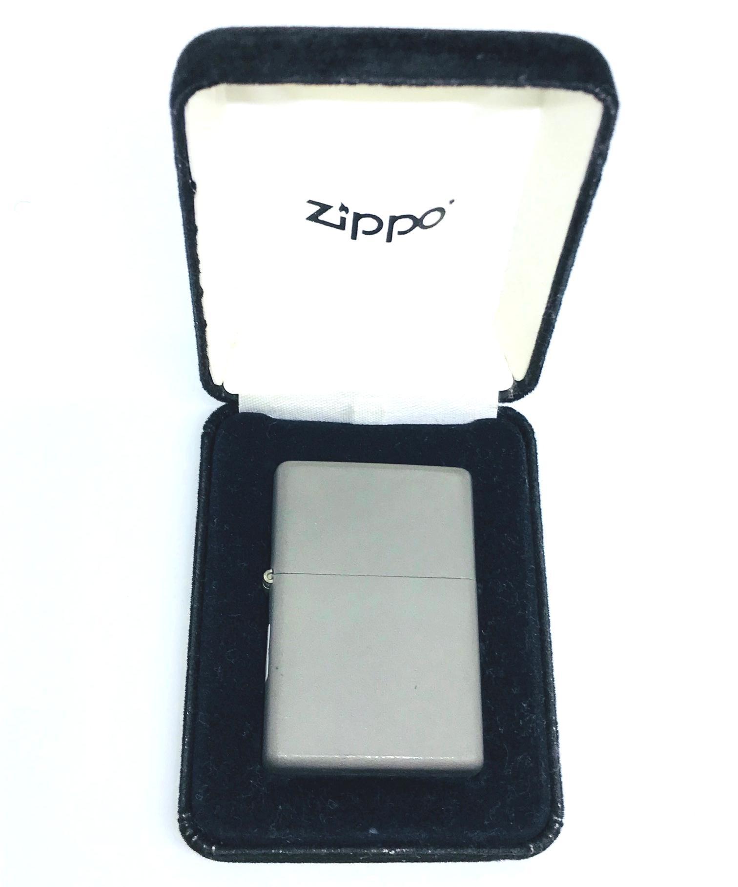 Zippo SOLID TITANIUM nguyen chat cuc hiem Z606