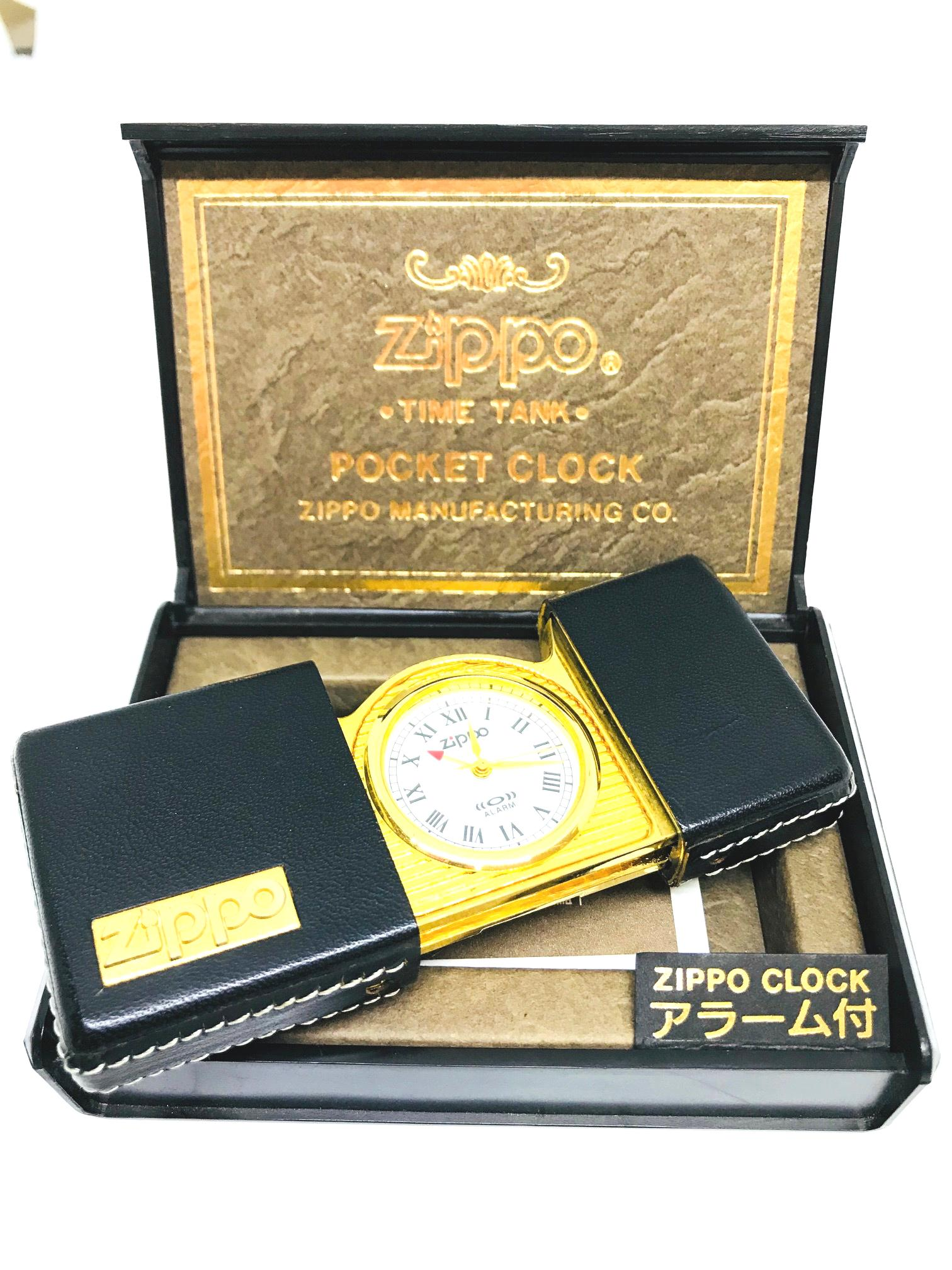 Zippo pocket clock dong ho bo tui Z607