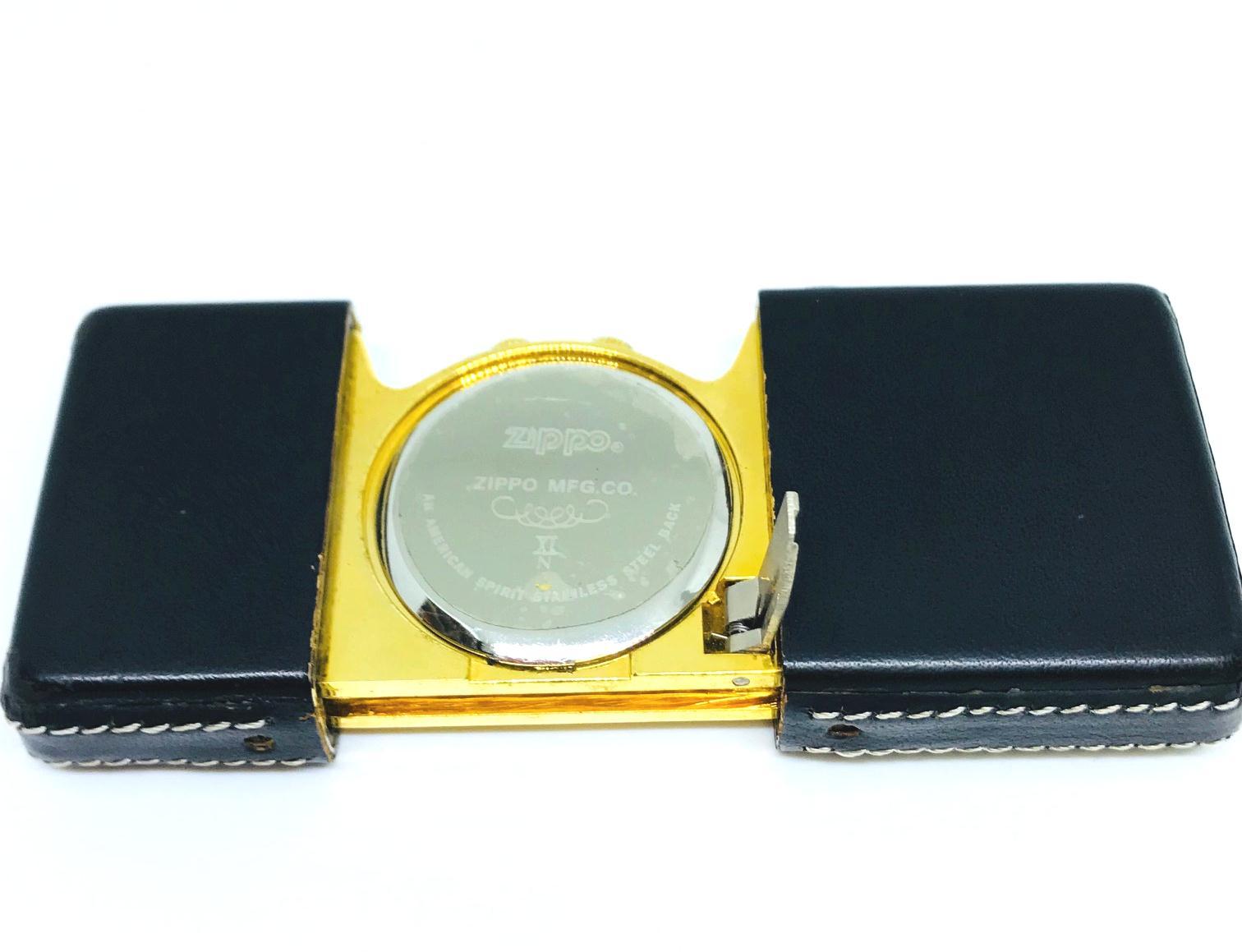 Zippo pocket clock dong ho bo tui Z607 5