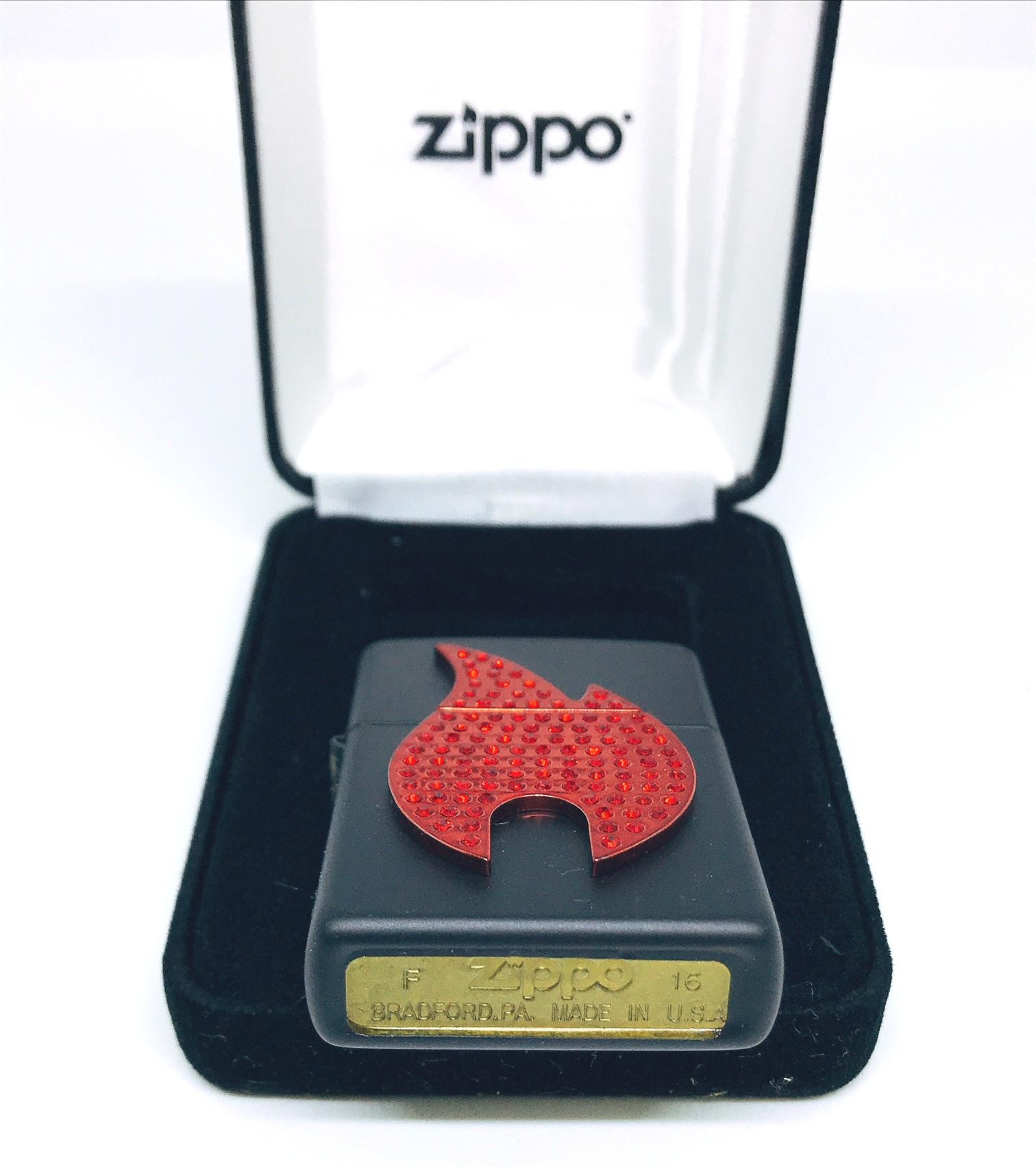 Hop quet zippo noi ngon lua den Z612 2