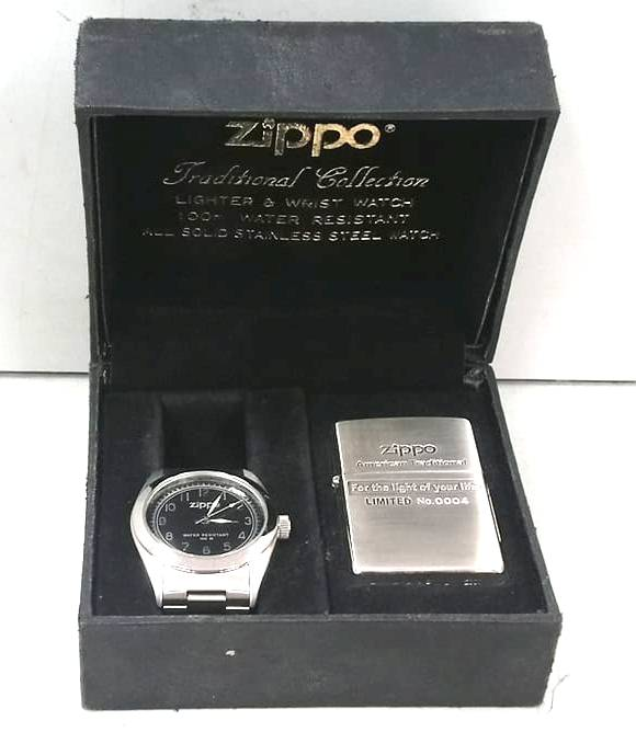 Bo zippo + dong ho limited Z627