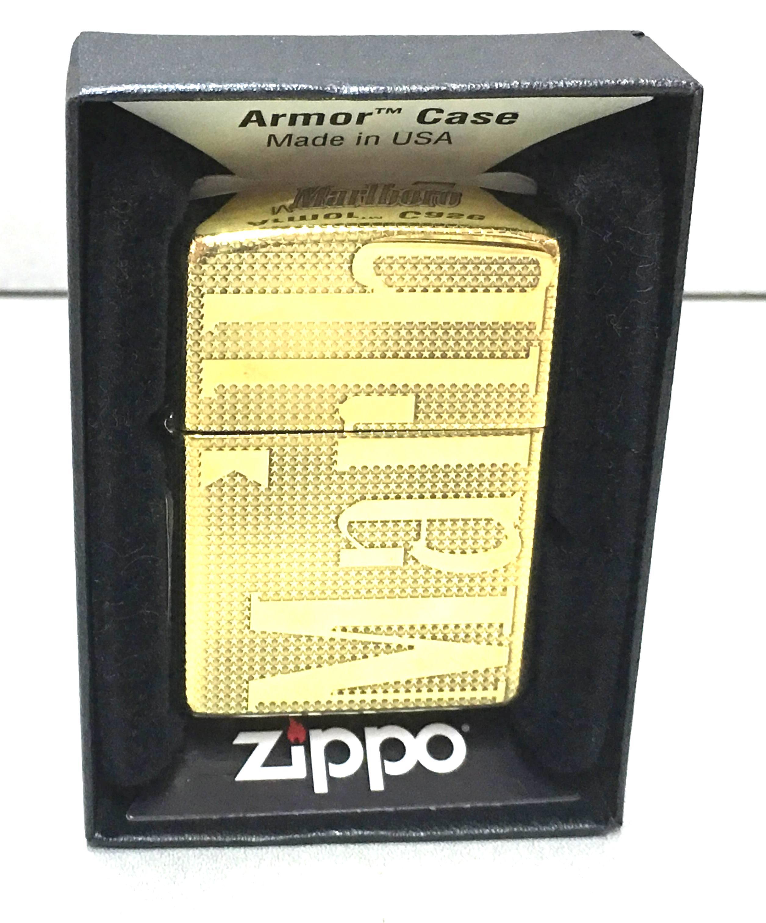 Zippo vang armor Marlboro Z638