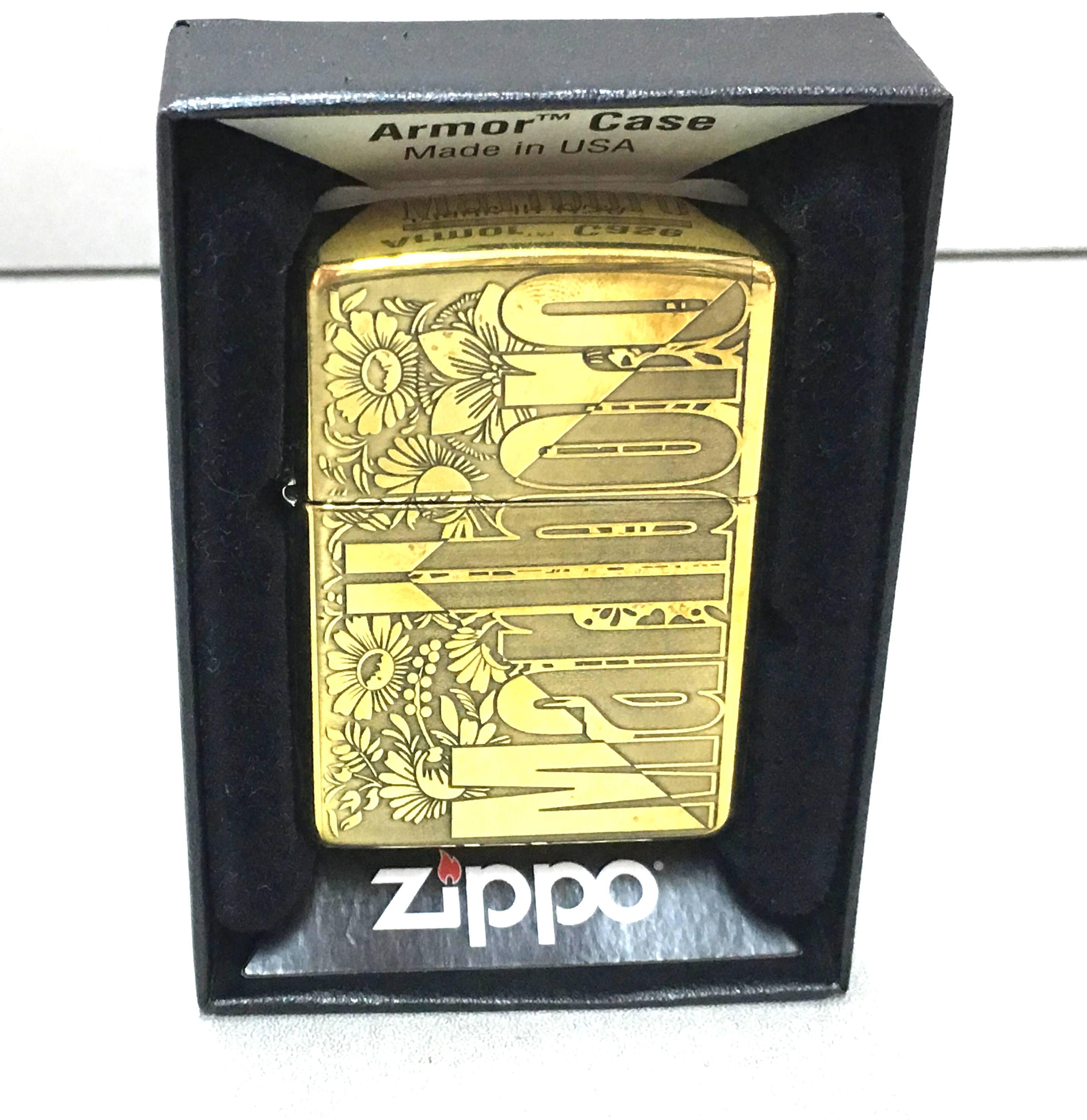 Zippo vang armor Marlboro Z639