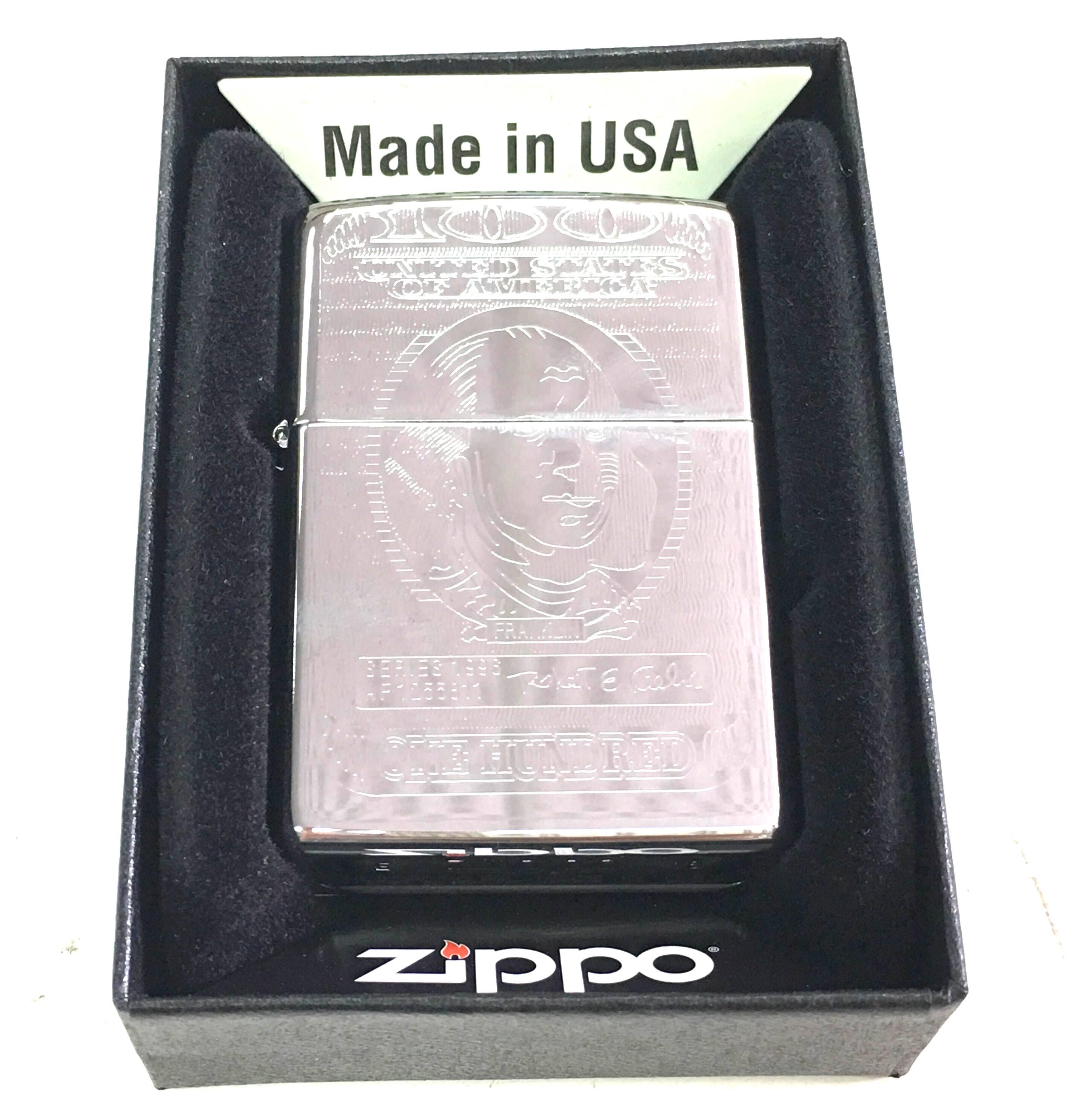 Zippo bong suot 1 mat hinh Do la Z659