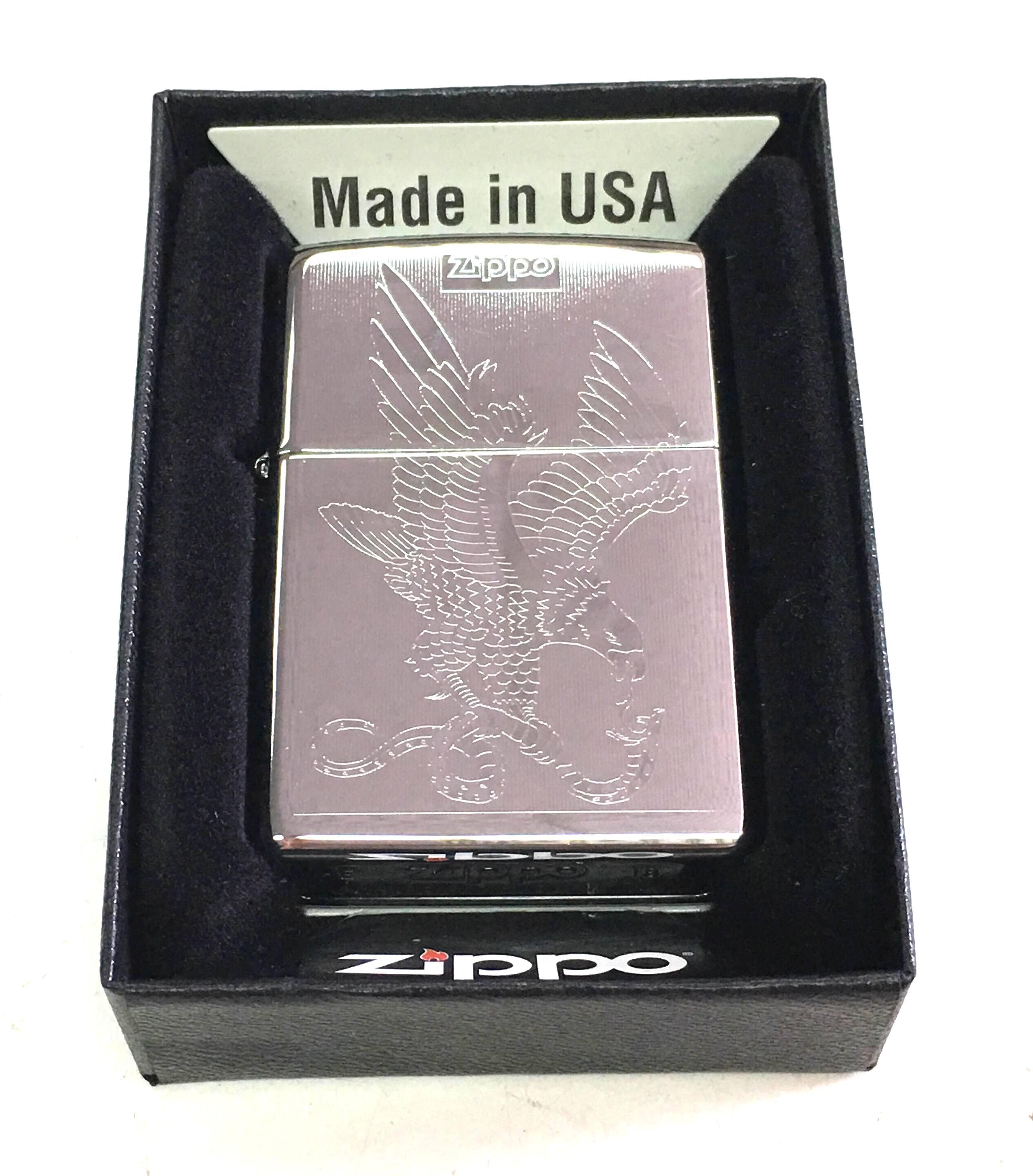 Zippo bong suot 1 mat hinh dai bang Z663