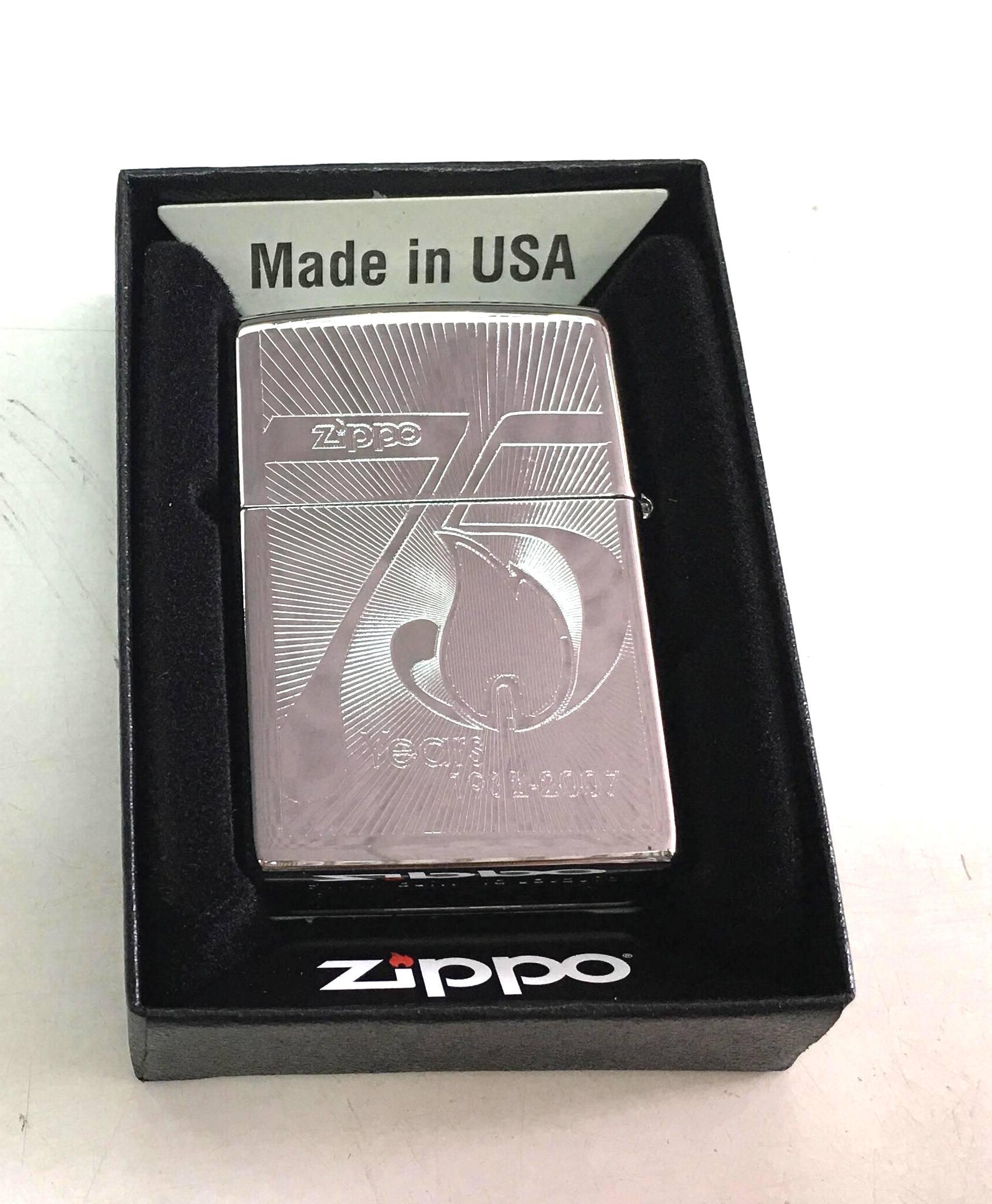 Zippo trang bong suot khac 2 mat 75nam Z671