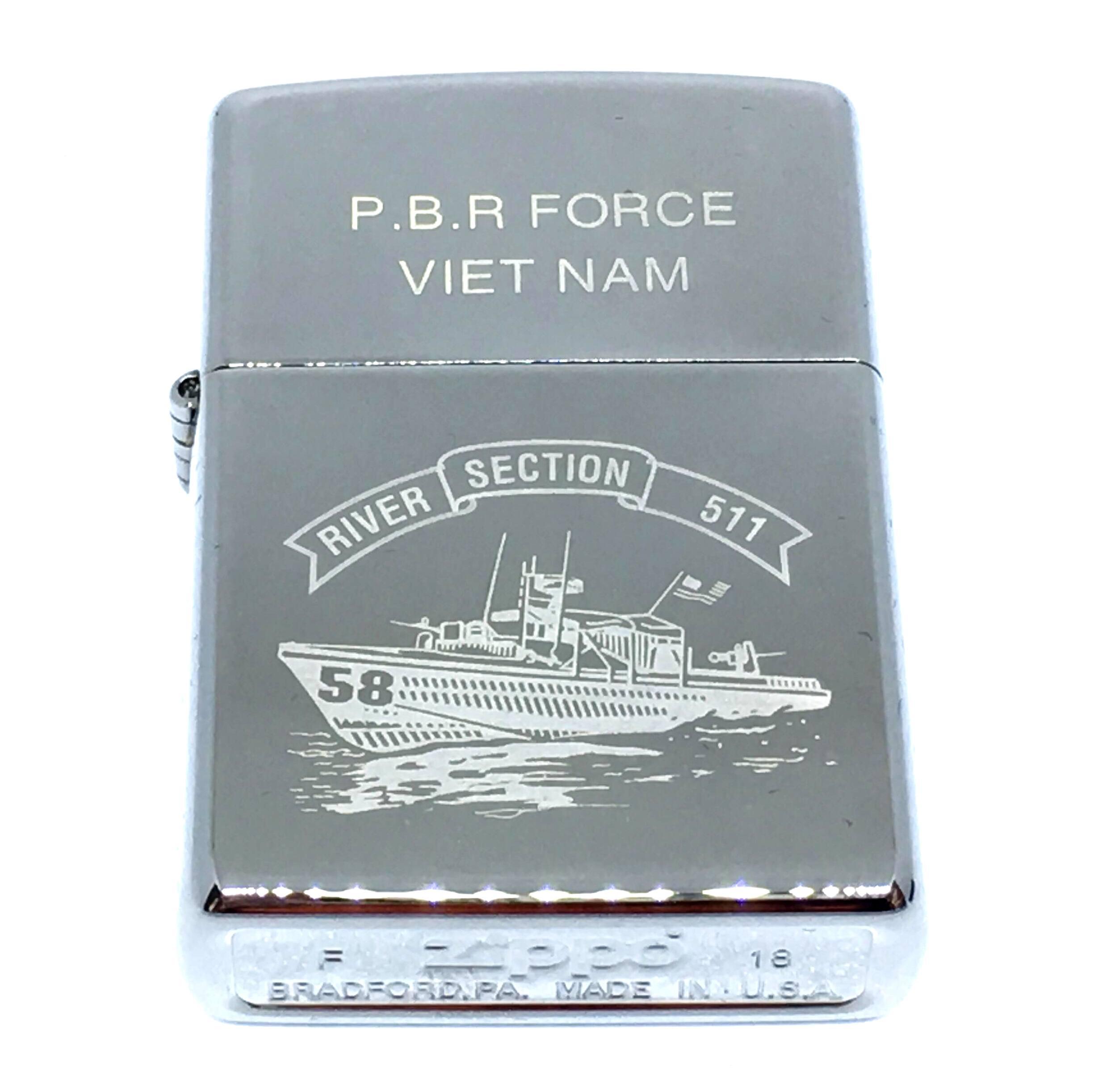 Zippo den bong khac laze  P.B.R FORCE VIET NAM Z699 2