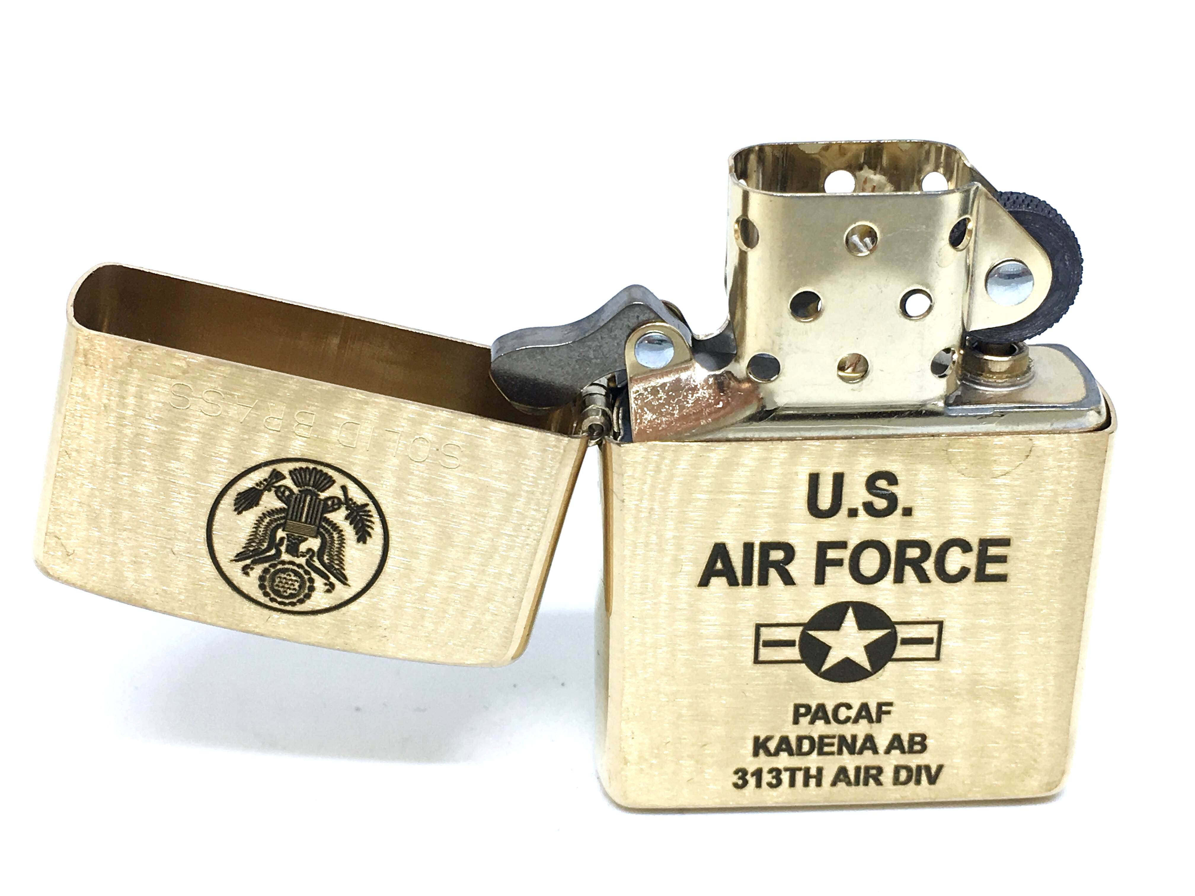 Zippo vang nham khac laze U.S.AIR FORCE NTZ708 3