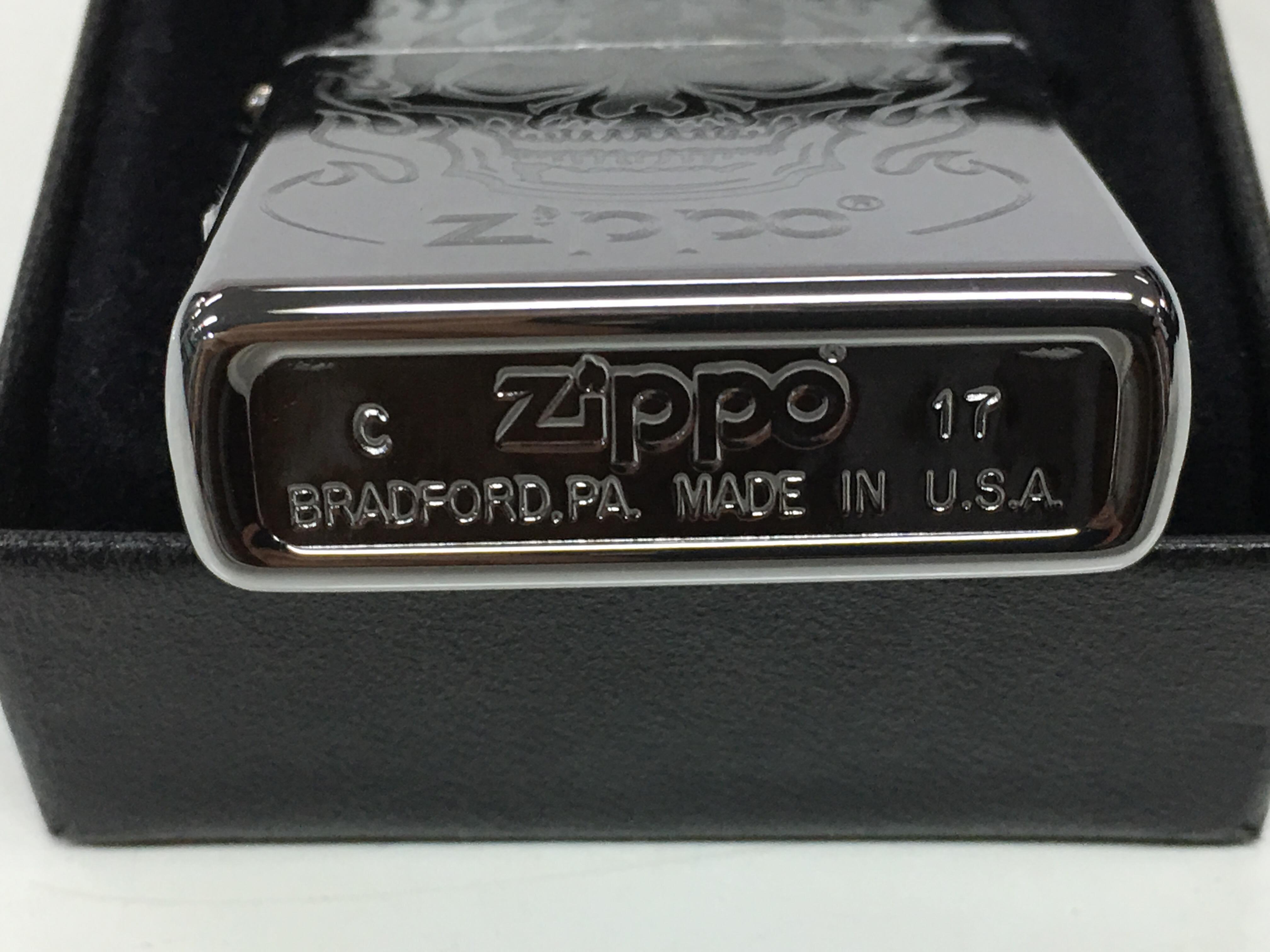 Zippo bong trang khac sieu sau 1 mat dau so  Z723 3