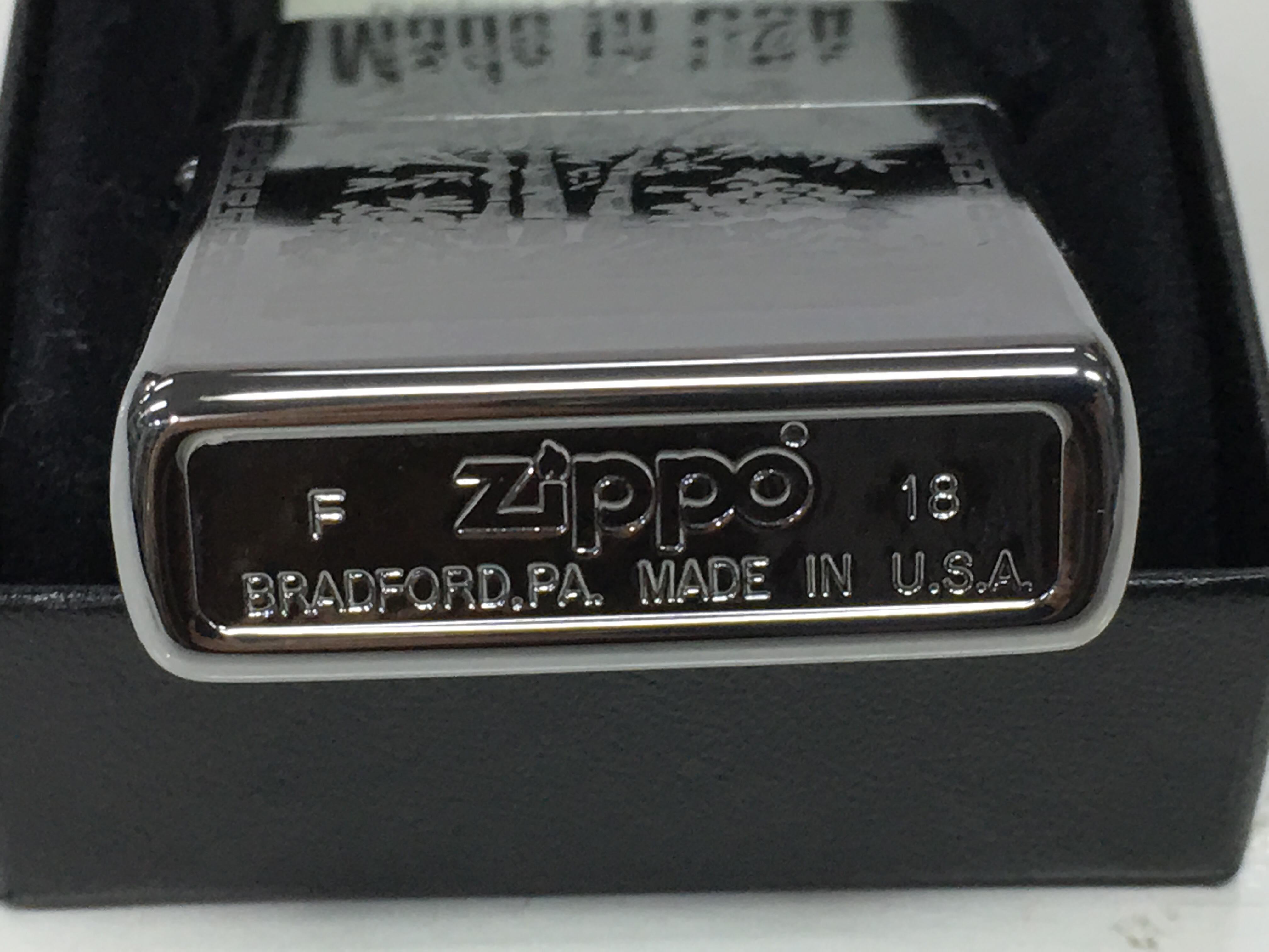 Zippo bong trang cham sau chu Tho Z727 3