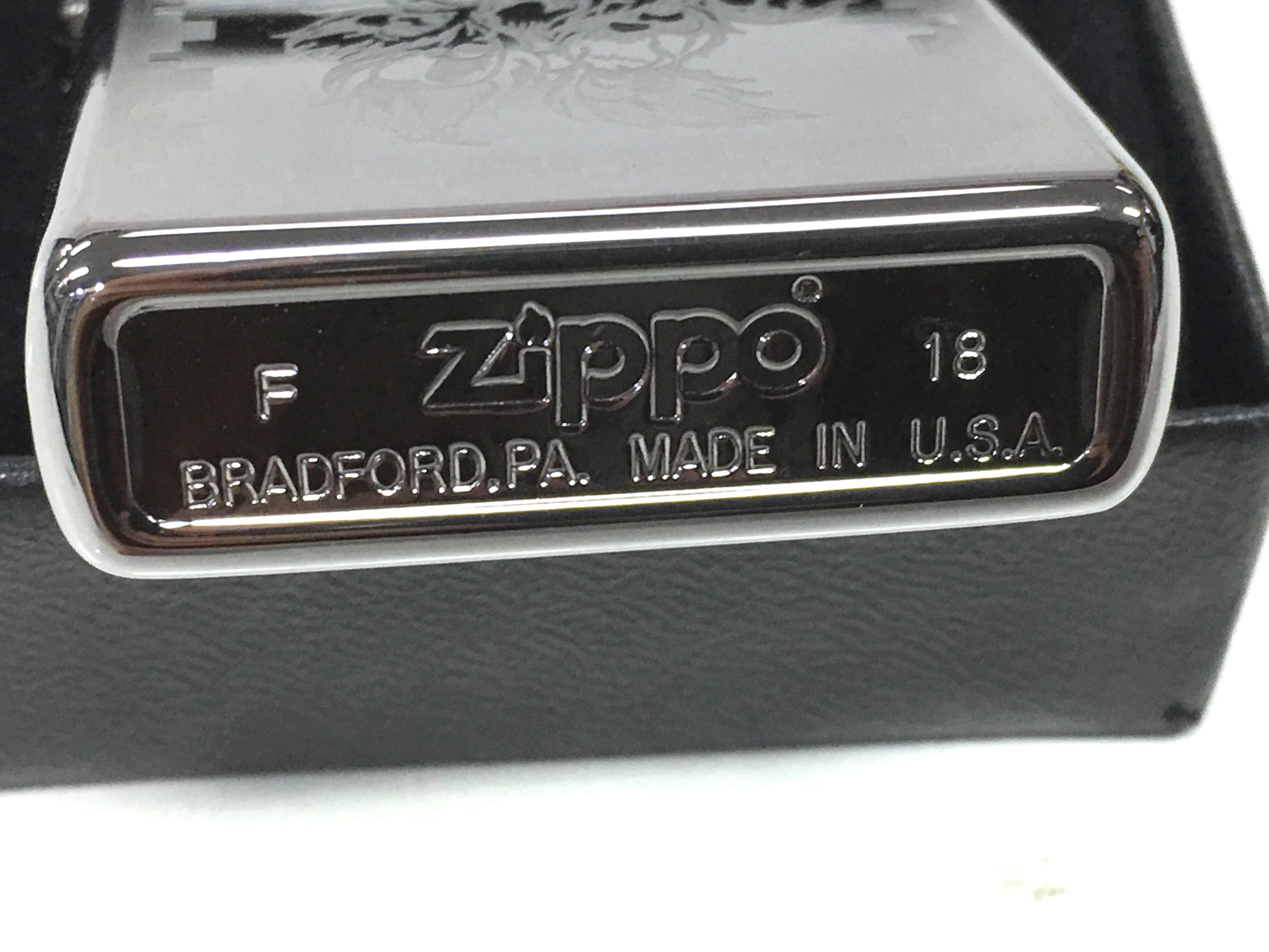 Zippo bong trang cham sau con cong Z729 3