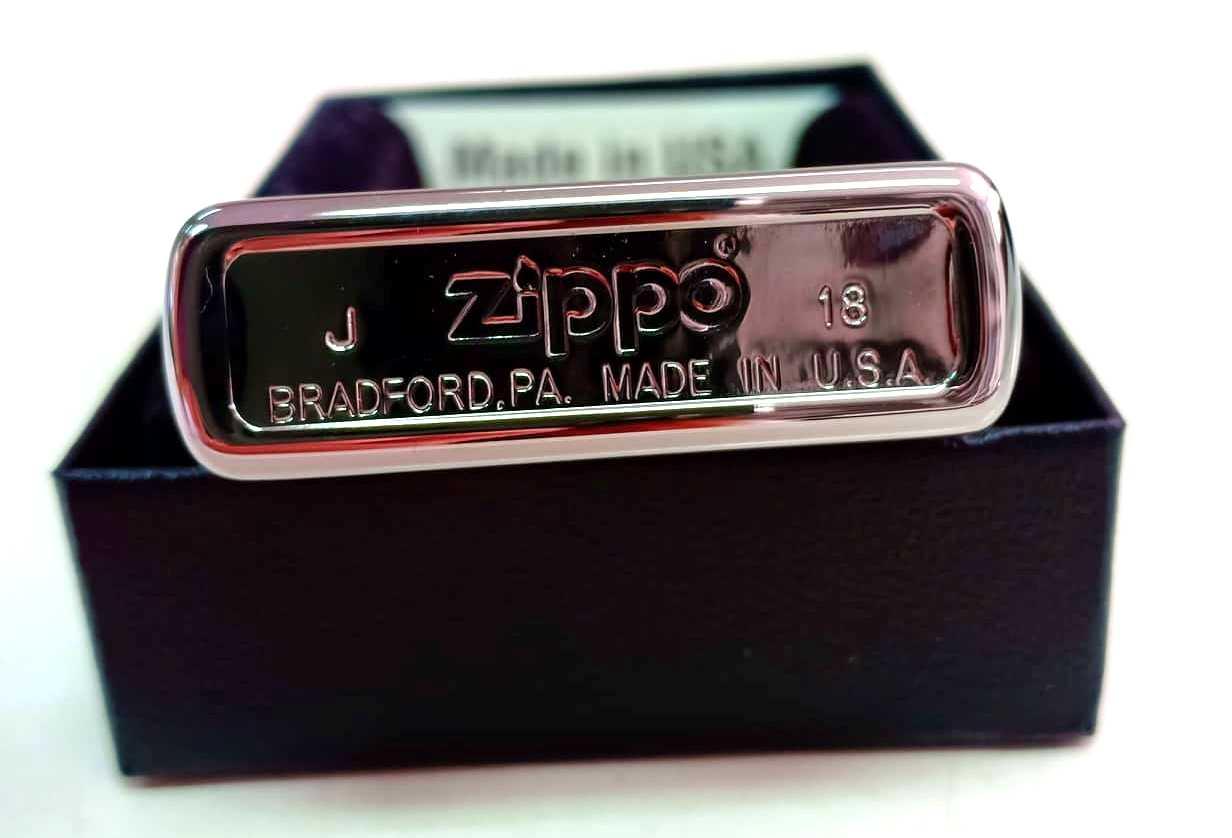 Zippo bong trang khac 2 mat hinh dai bang Z741 4