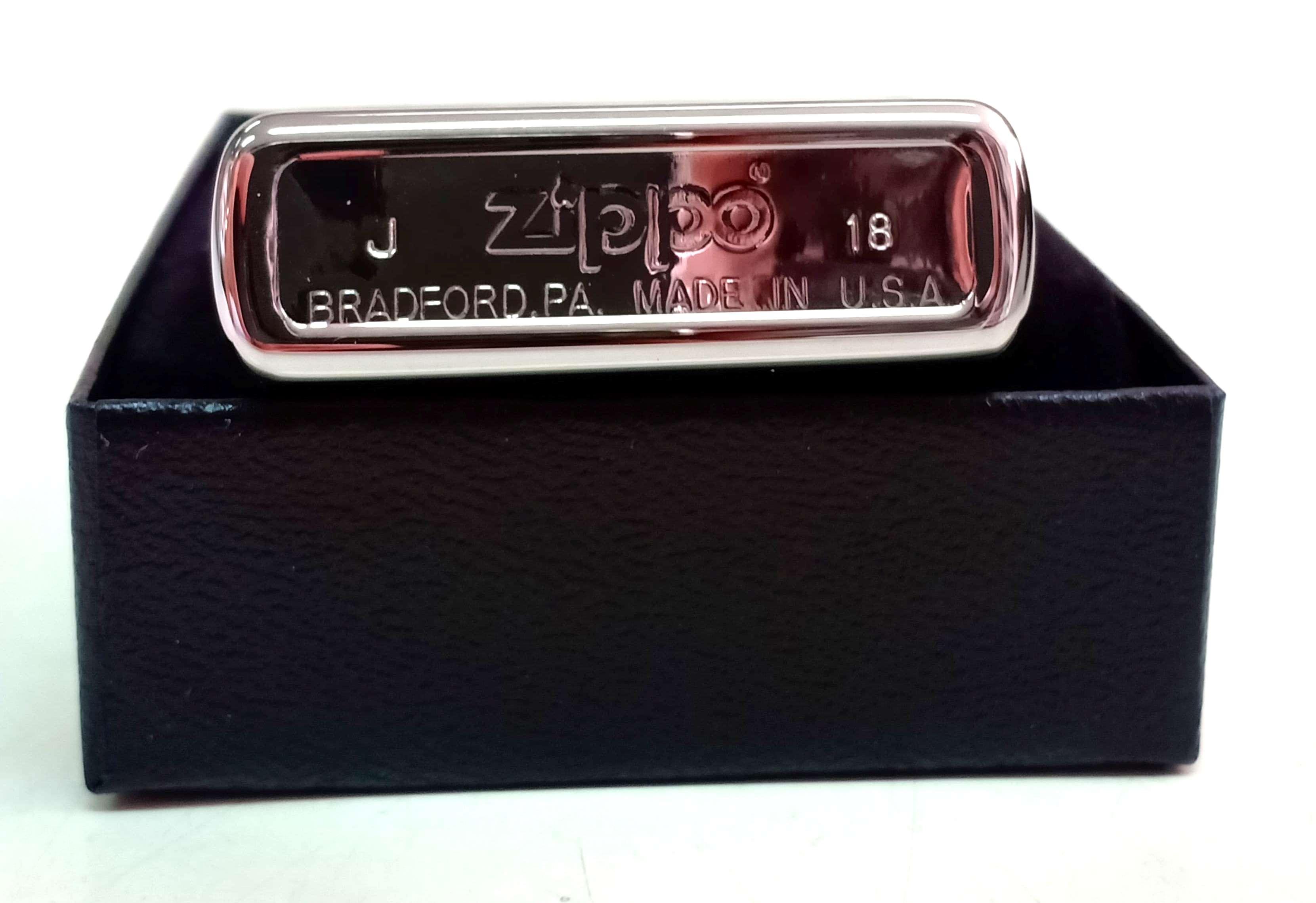Zippo bong trang khac 2 mat hinh dai bang Z744 4