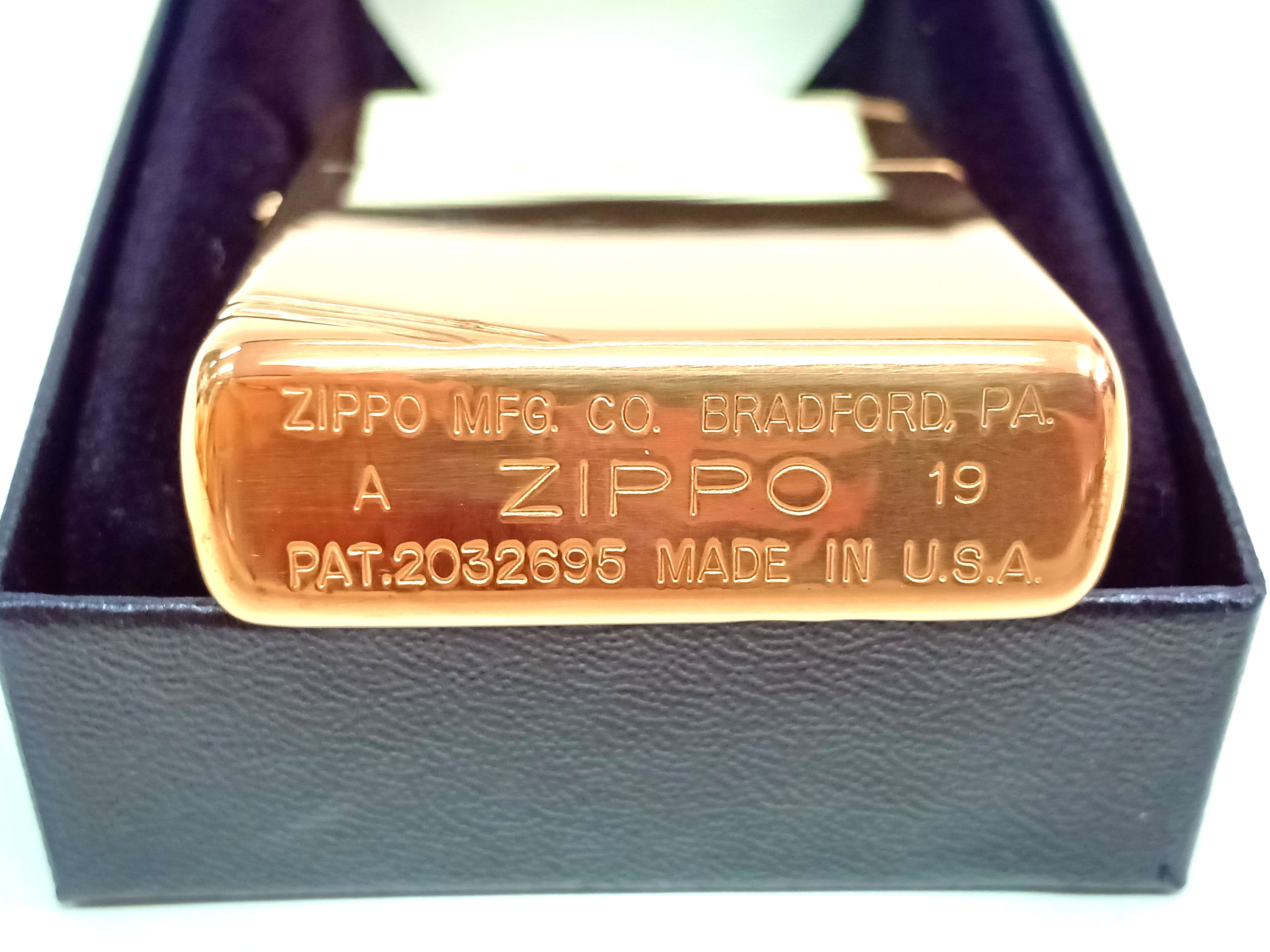 Zippo vang bong goc Vintage Look Z746  3