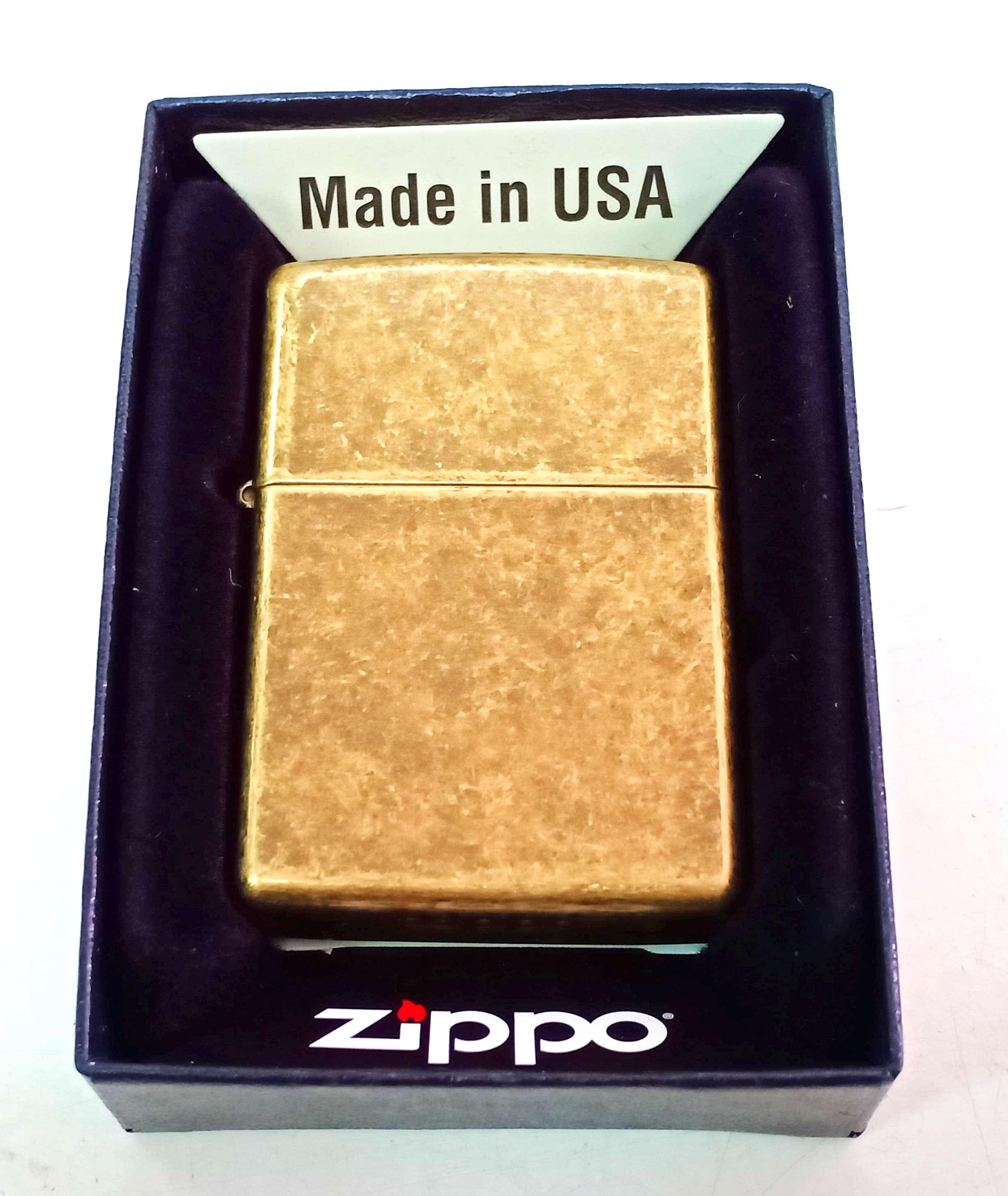 Zippo dong thau co Z748