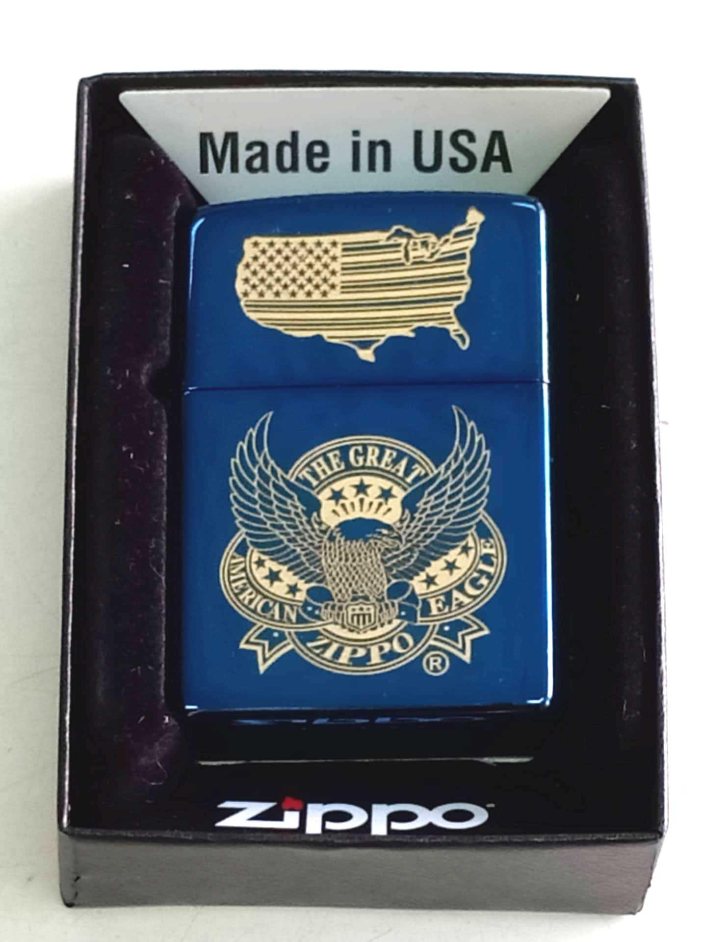 Zippo xanh saphia khac laze dai bang Z766