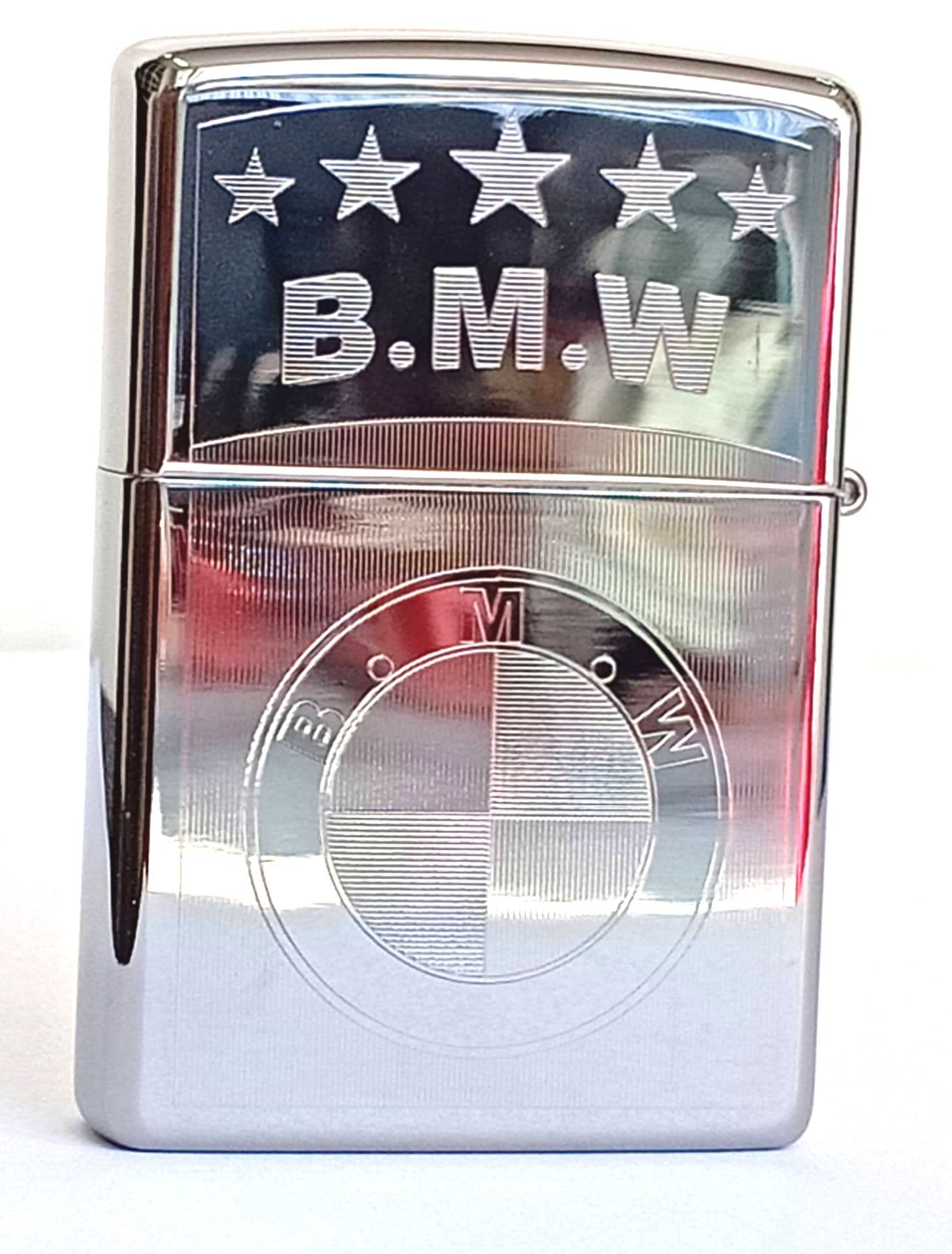 Zippo bong trang khac 2 mat B.M.W Z791 2