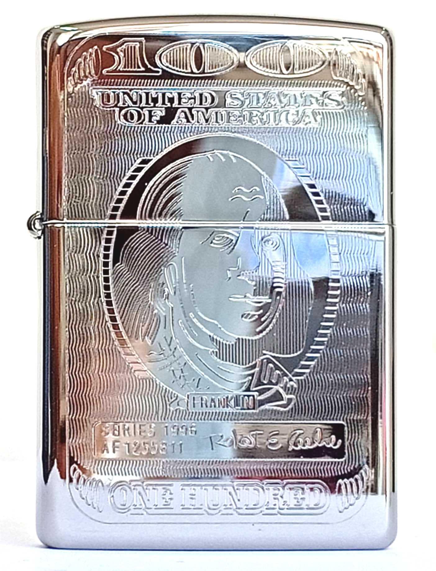 Zippo bong trang khac 2 mat hinh do la Z795 1