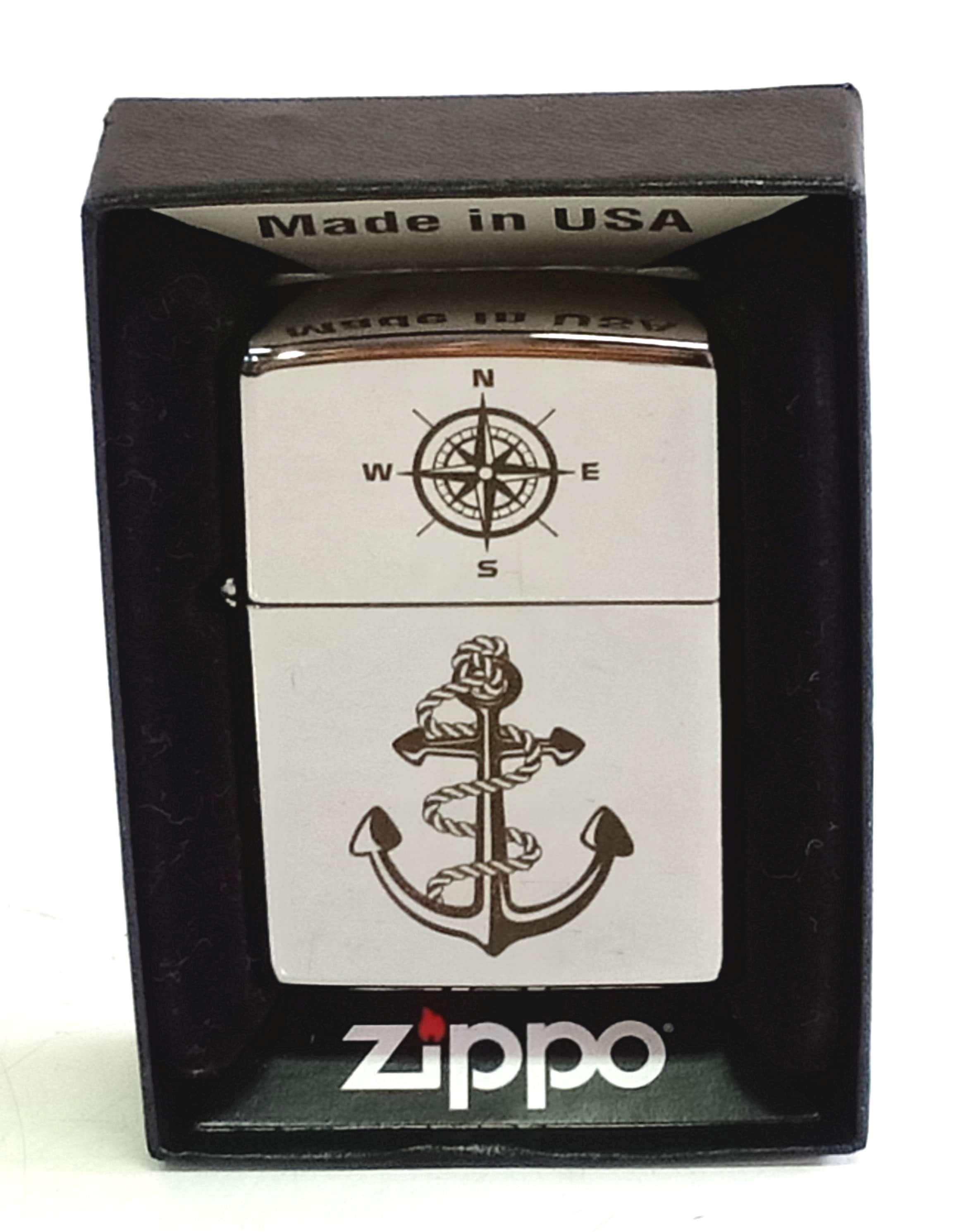Zippo bong trang khac den mui neo Z816