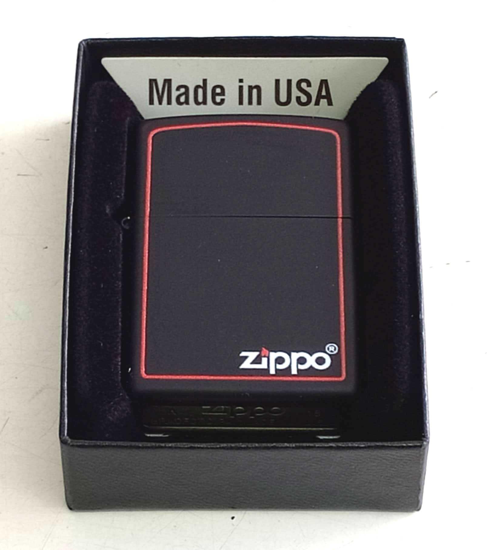Zippo son den tinh dien vien do Z824