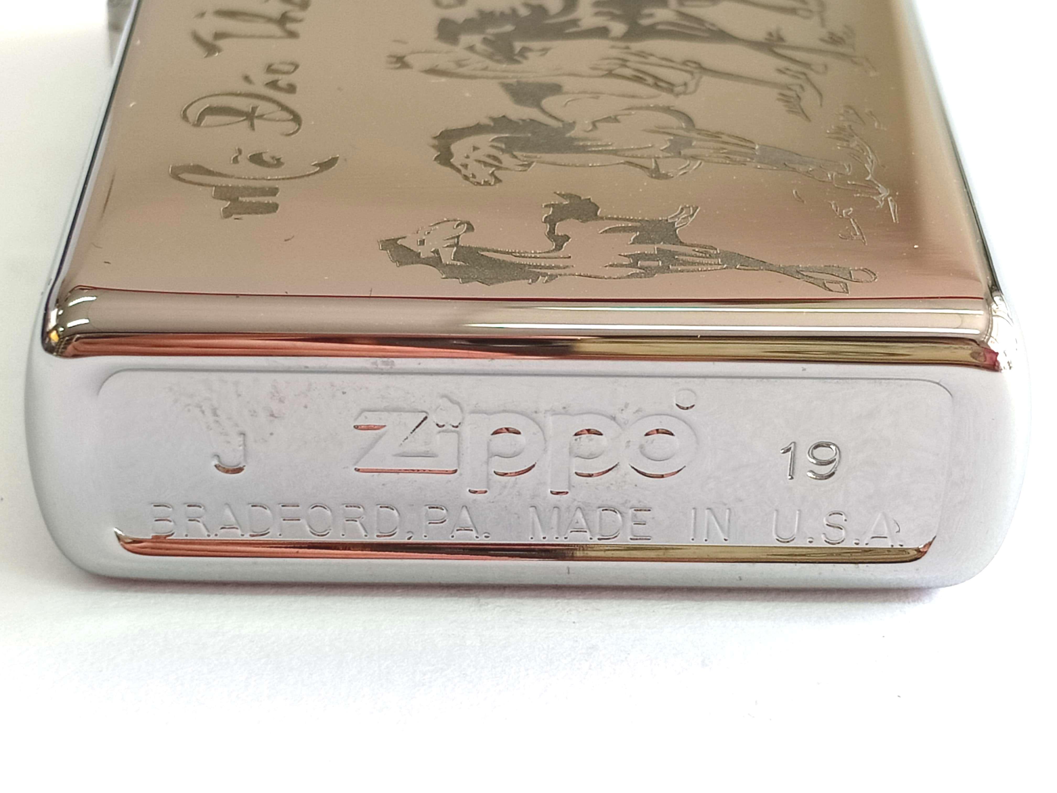 Zippo bong trang khac den Ma Dao Thanh Cong Z839 3