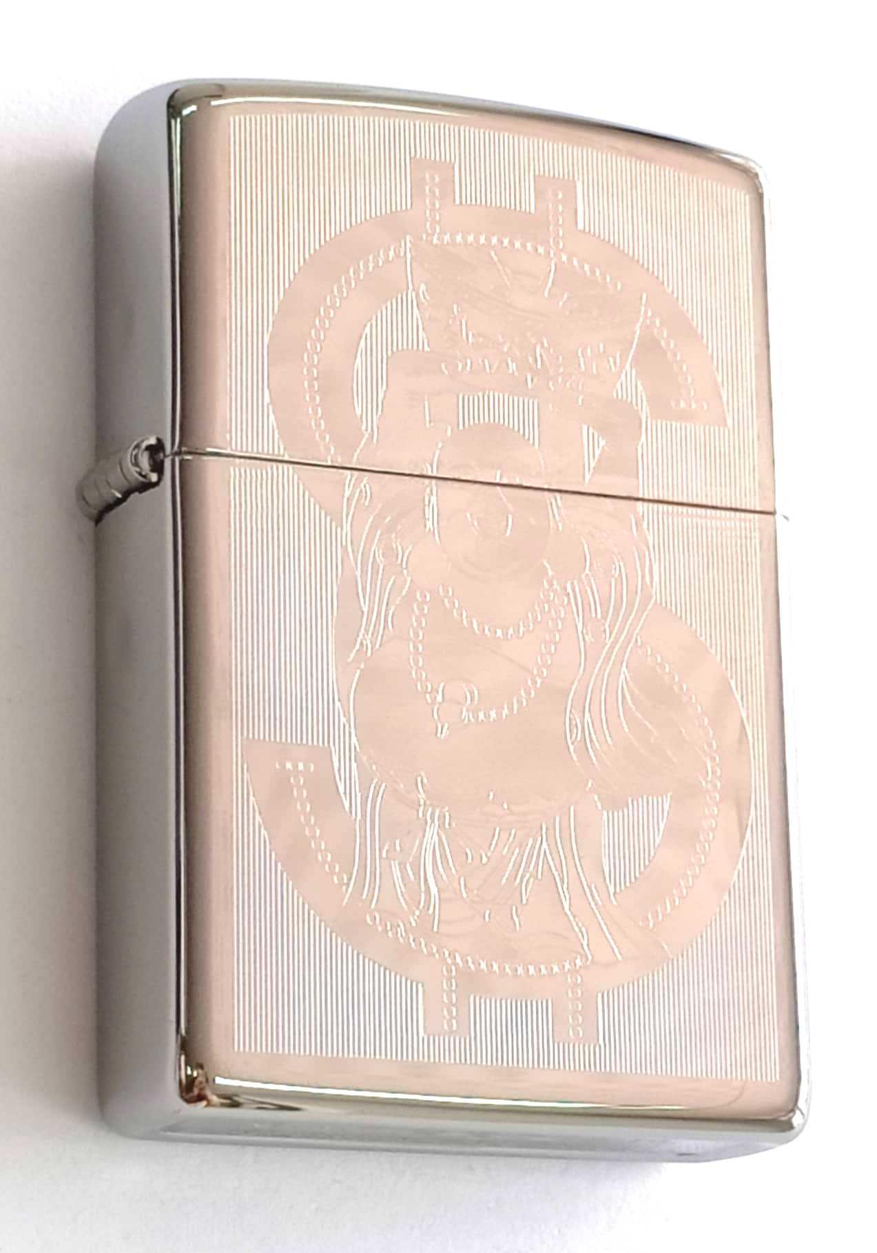 Zippo bong trang khac 1 mat hinh $ Z846 1