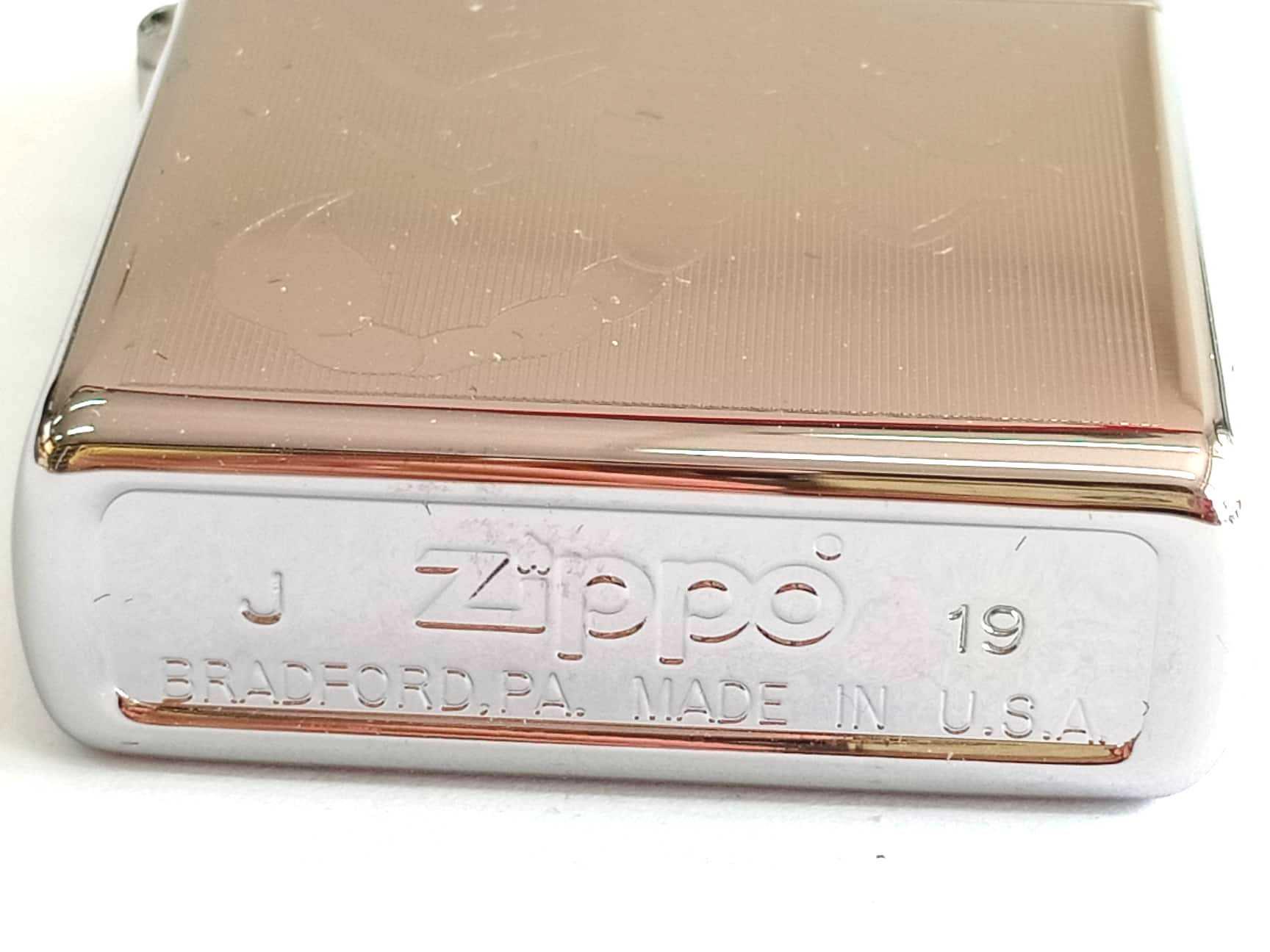 Zippo bong trang khac 1 mat hinh bo cap Z849 3
