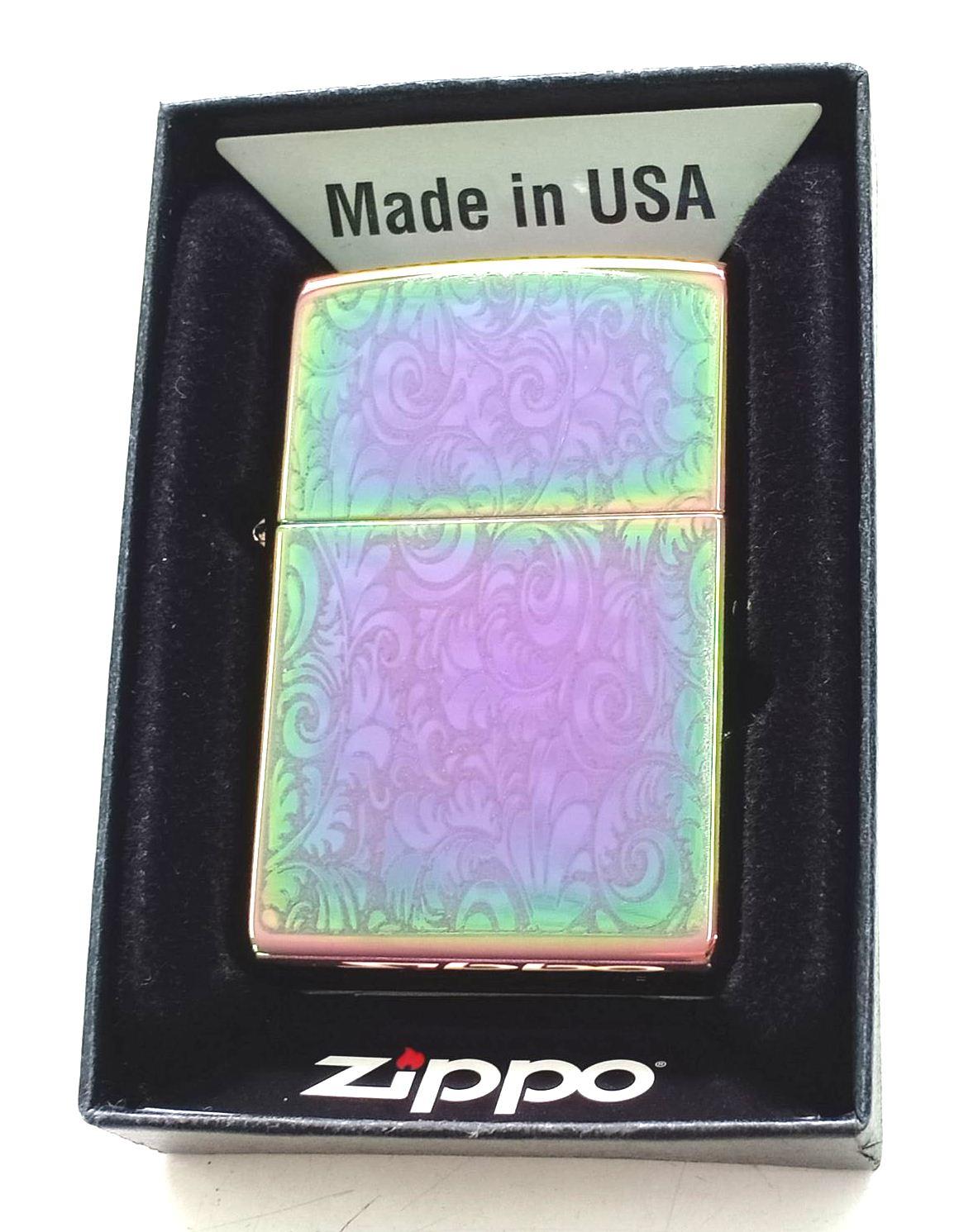 Zippo 7 mau cham hoa van Z665