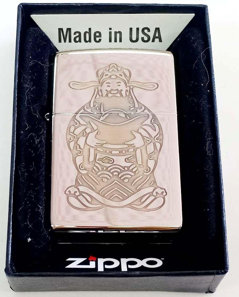 Zippo bong trang khac loi thau 1 mat Z676