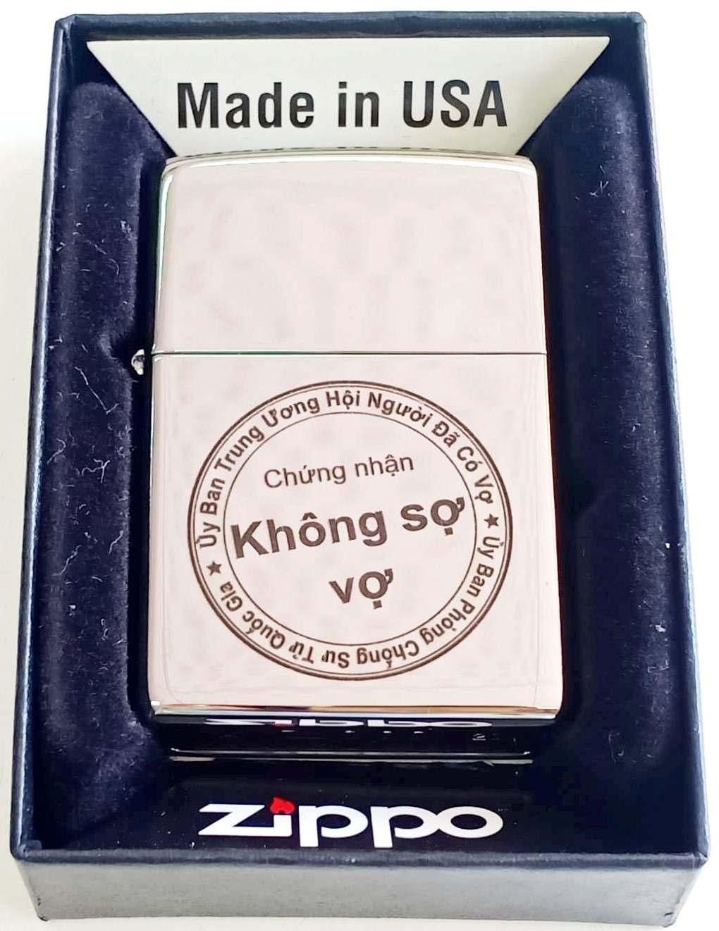 Zippo bong trang khac den Z680