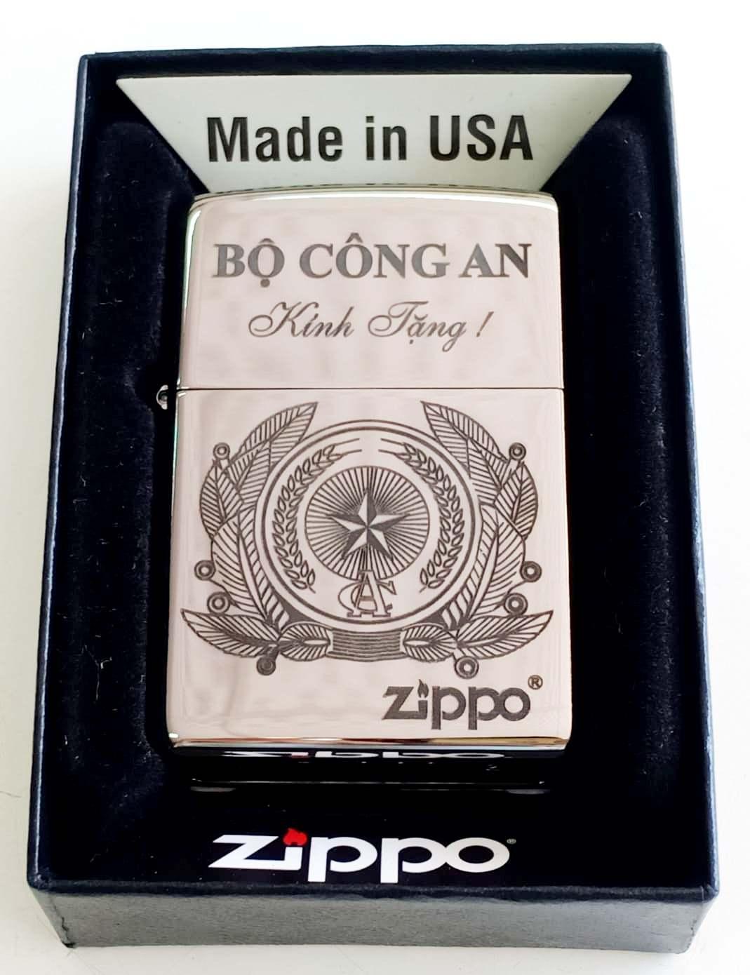 Zippo bong trang khac den Z682